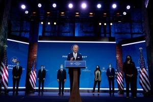 Presidente elect Mericano Biden a presenta su prome miembronan clave di su gabinete
