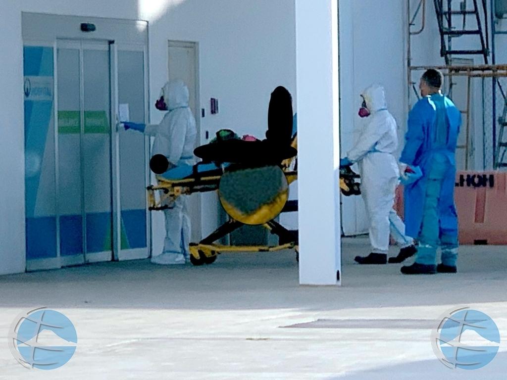 Cantidad di pashent hospitalisa pa COVID19 a surpasa 20 awe