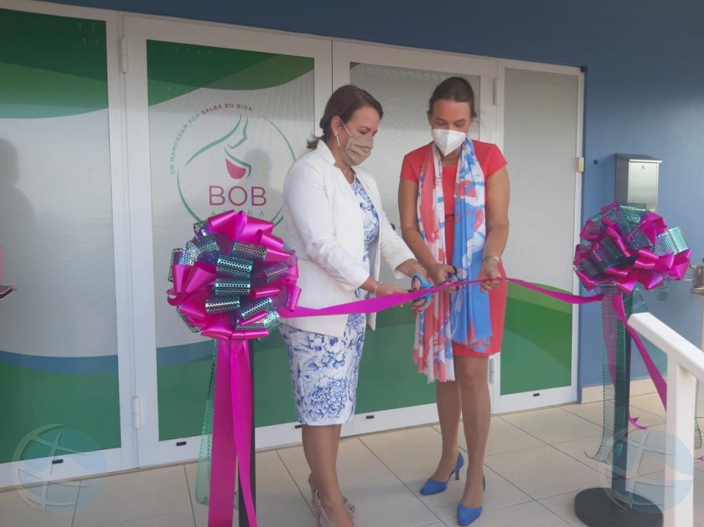 Inauguracion di oficina nobo di Stichting Bob