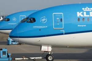 KLM ta stop buelonan di distancia largo entrante diabierna awor