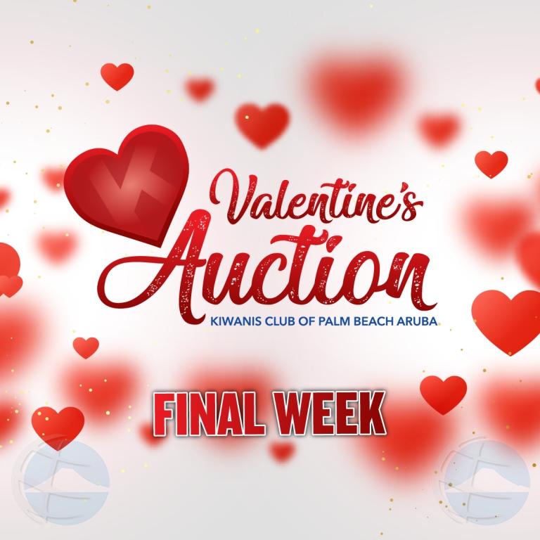 Haci uso awor di Kiwanis Valentine Fundrasing Auction!