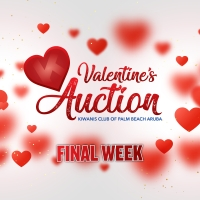 Haci uso awor di Kiwanis Valentine Fundrasing Auction!