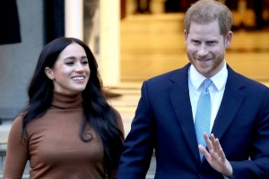 Harry y Meghan lo no bolbe como miembronan activo di famia Real Ingles
