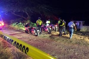 Motorciclista masculino a acidenta na altura di Morgenster