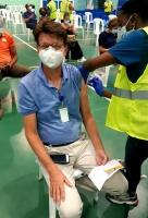 Varios miembro di DVG y Crisis Team tambe a vacuna contra Covid19
