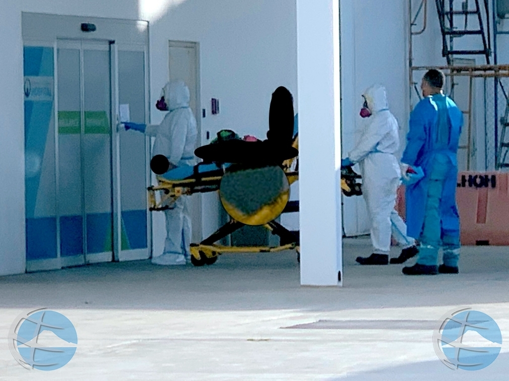 Casonan di hospitalisacion pa Covid19 a subi di 8 te 25 den 5 dia