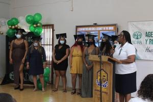 Fundacion ADRA Aruba ta certifica e di dos grupo di Mayornan Hoben