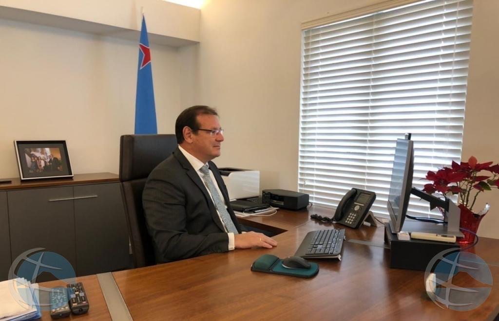 Gobernador di Aruba bek den funcion entrante dialuna 12 di april