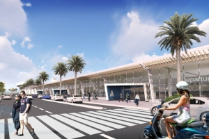 Expansion di aeropuerto di Aruba 'Gateway 2030' ta inicia na juni di 2021!