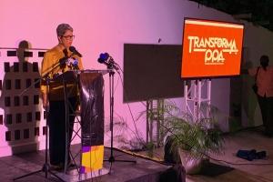 Partido politico PPA a presenta su lider nobo Lissette Malmberg