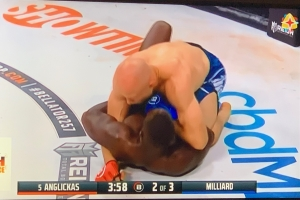 Gregory Milliard a perde su pelea contra Julius Anglickas na Merca