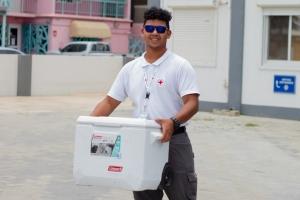 Cruz Cora Aruba ta stop cu e programa di ayudo di cuminda