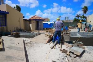 SETAR construyendo Teleshop nobo na Palm Beach