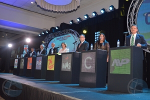 Camara di Comercio ta organisa dos debate electoral pa luna di juni