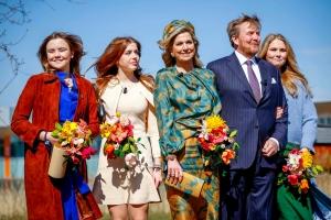 Rey Willem Alexander a celebra su cumpleaños na Eindhoven