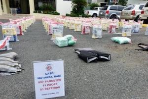Rep. Dominicana en busca di e.o. Arubianonan responsabel pa 897 paki di cocaina confisca