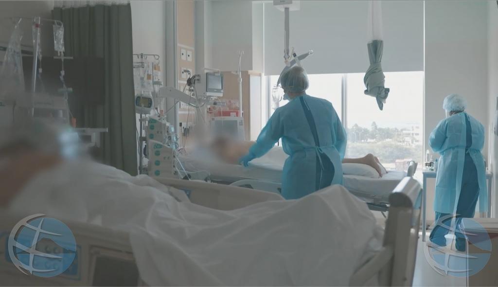 Hospital a  conoci aumento leve di pashent di Covid19 e siman aki atrobe