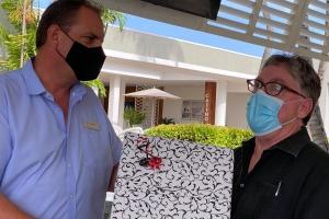Hilton Aruba Caribbean Resort a celebra retirada di Chef Ehecutivo Matt Boland