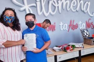 Filomena College Mavo a reparti premio na ganadornan pa varios evento