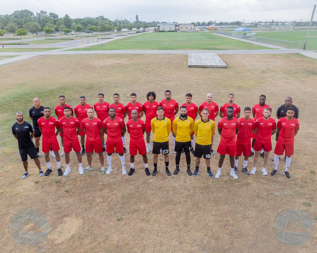 Awe seleccion nacional di futbol di Aruba ta topa Cayman Islands den  eliminatorio Qatar 2022