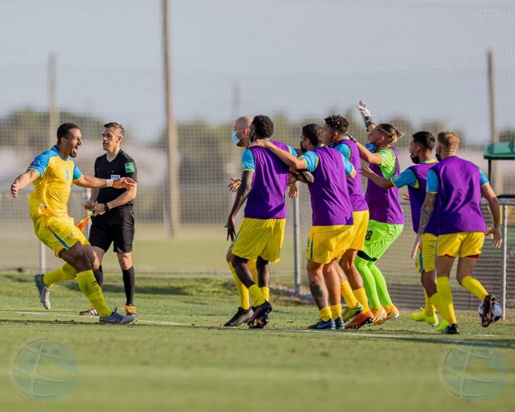 Seleccion nacional di futbol di Aruba ta gana Cayman Islands 3-1 den cualificatorio pa Qatar 2022