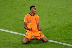Denzel Dumfries a score e gol ganador pa Hulanda gana Ukraina