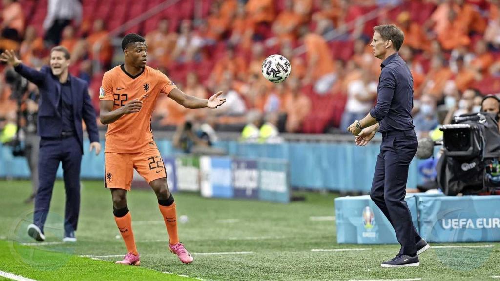 Denzel Dumfries a bolbe resalta den victoria di Hulanda contra Austria