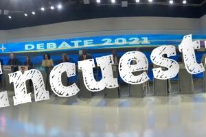 Encuesta politico di Noticiacla y Doc Opleiding riba debate #2 di KvK