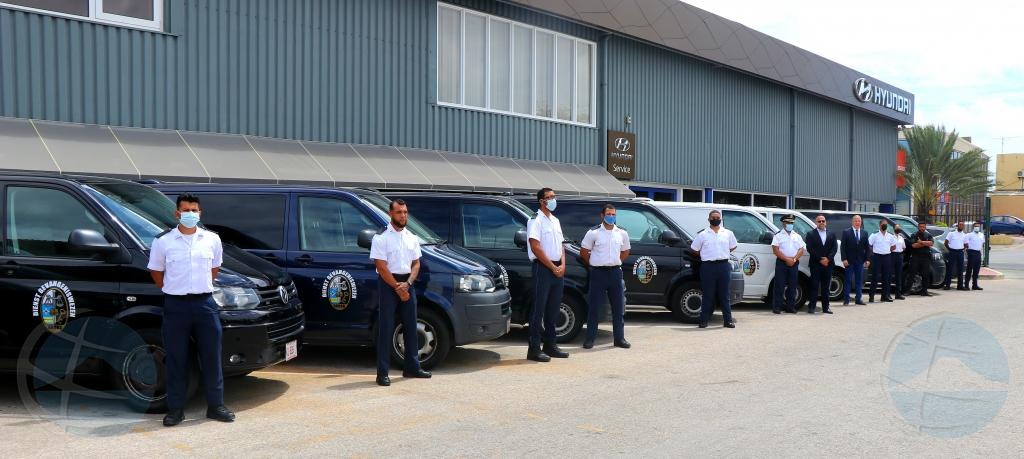 Korectie Instituut Aruba (KIA) a ricibi 9 bus specialisa for di Hulanda