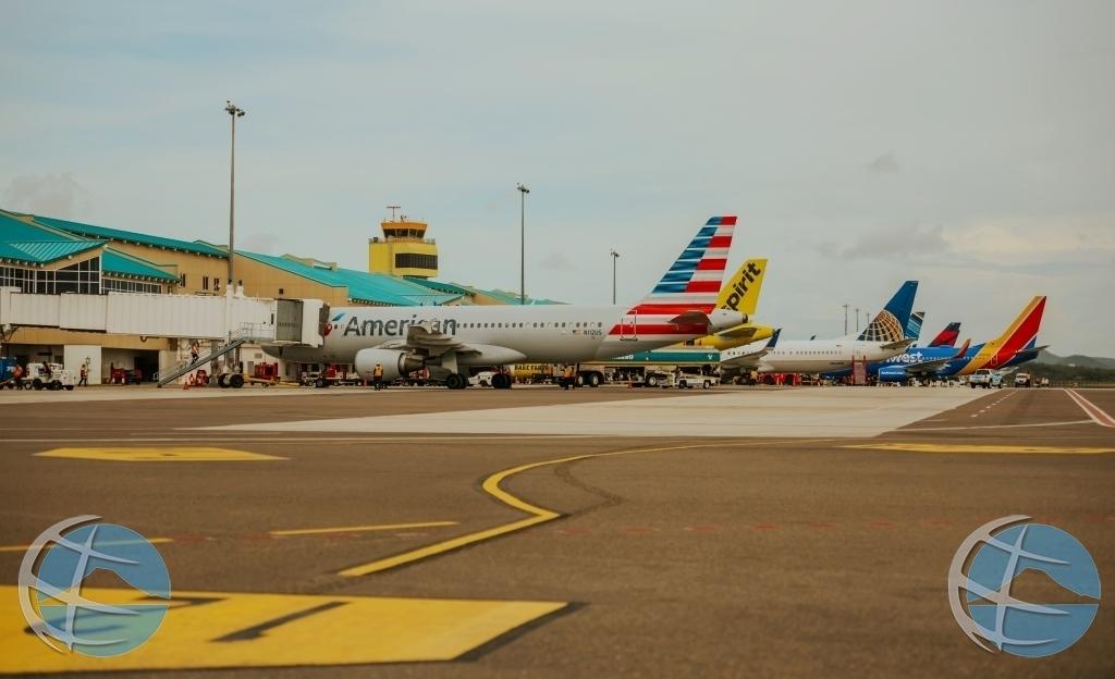 Aeropuerto di Aruba su recuperacion a continua den Juni 2021