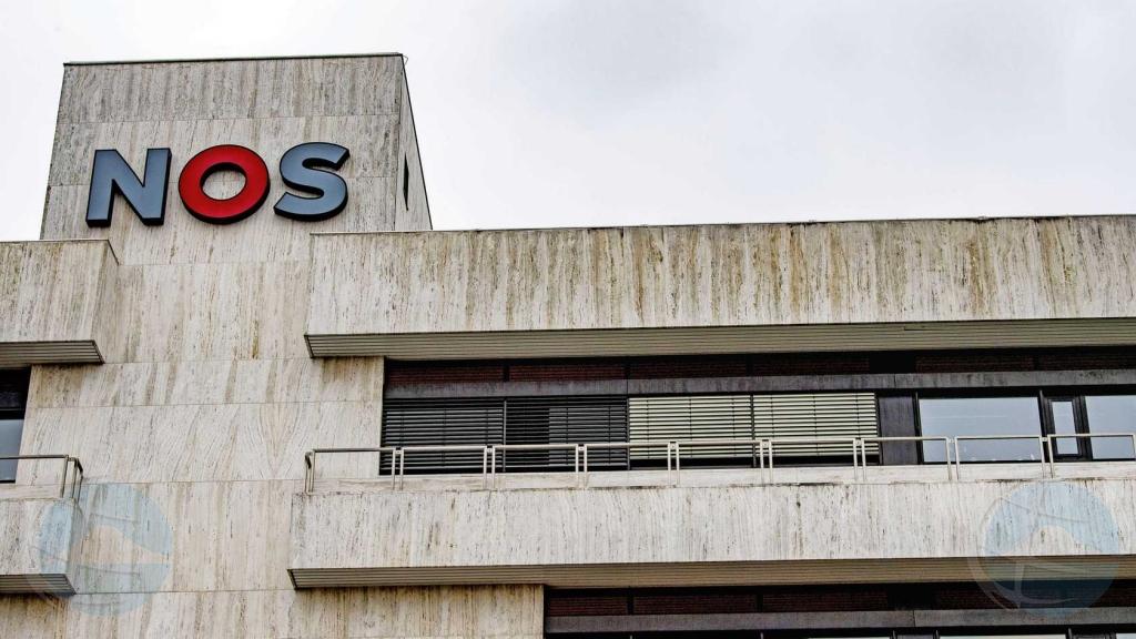 Entrada principal di edificio di compania di media N.O.S. cera pa menasa