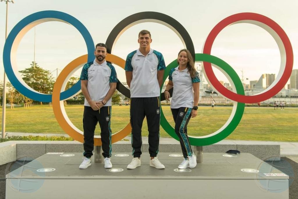 Delegacion di Aruba ta completo na Villa Olimpico na Tokio