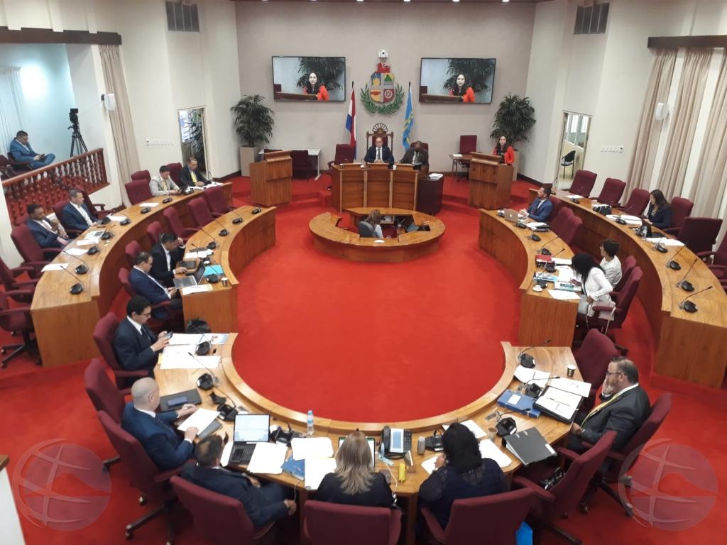 Parlamento porfin a cuminsa trata presupuesto 2021 diabierna mainta