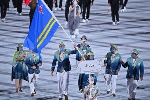 Aruba su uniform Olimpico a haya reconocemento internacional!