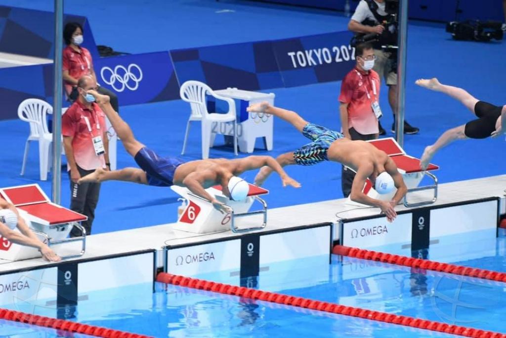 Mikel Schreuders a landa bon den 200 meter na Tokyo freestyle pero no pa clasifica