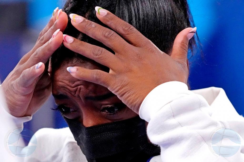 Miho gimnasta femenino di mundo Simone Biles ta retira sorpresivamente di Olimpiada na Tokyo
