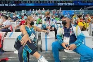 Landador di Aruba Mikel Schreuders a mehora su tempo awe mainta na Tokyo