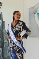 Miss Universe Aruba cu proyecto di concientisacion di Salud Mental: Feria di Arte y Salud