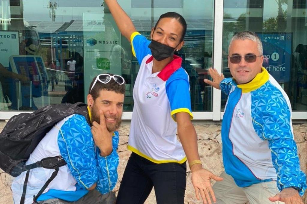 Articulo di BBC a enfoca riba Aruba y su team Paralimpico na Tokyo!