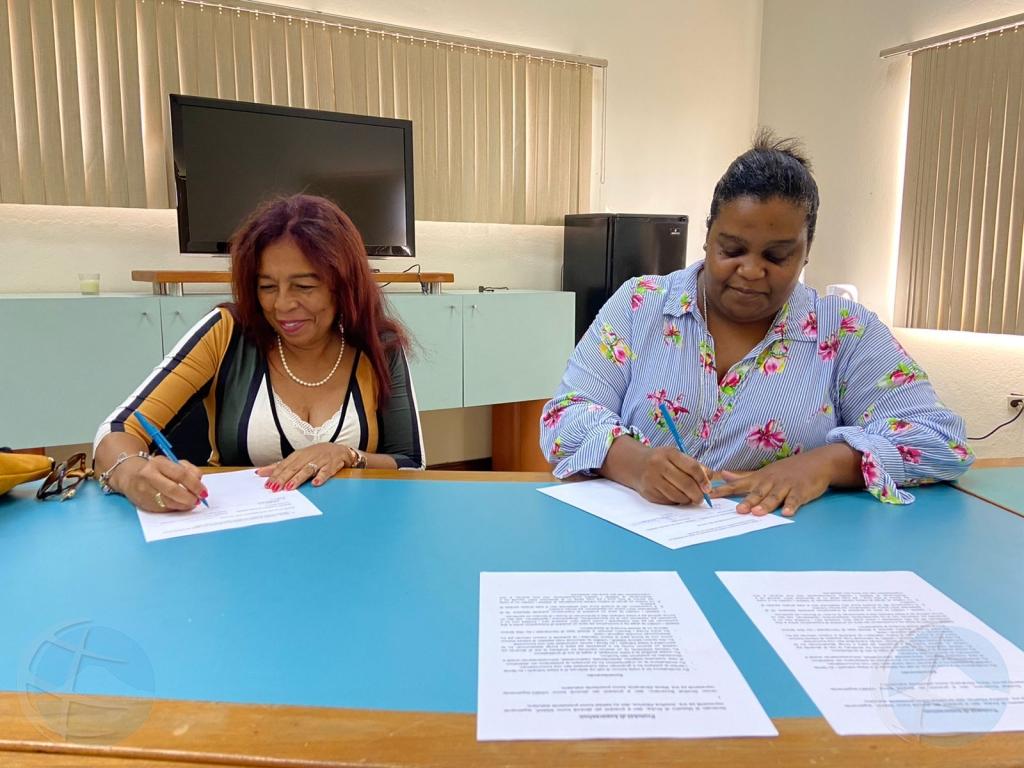 SIMAR di Aruba y USIBO y SIMABO di Bonaire a cera protocol di cooperacion