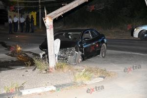 Na Corsou, atracador a fayece durante persecusion cu polis den accidente di trafico