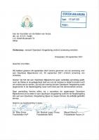 Oposicion ta prefera reunion publico pa trata 'screening' di ministernan