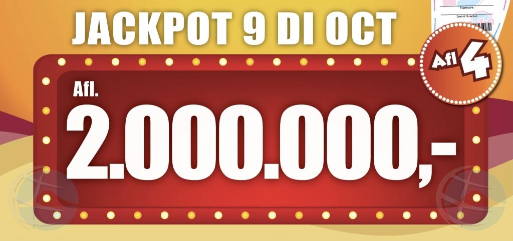 E premio miyonario di Lotto 5 a cay! Aruba tin un multimiyonario