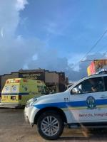 Accidente di auto dilanti Welcome Snack ta laga 2 persona herida
