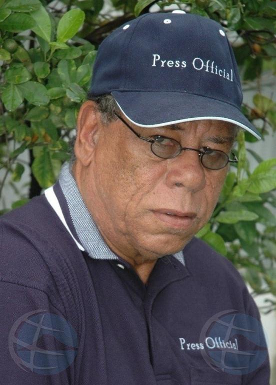 Conocido personalidad y periodista di Bonaire Aubrey Sealy a bay sosega