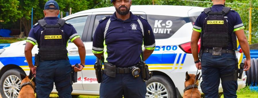 Aruba ta conta cu dos K9 polis profesional